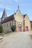 The medieval church in Champagne — Stock Photo
