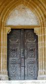Detail of beautiful old door — Foto Stock