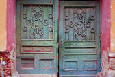 Detail of beautiful old door — Stok fotoğraf