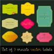 Set of  colorful labels — Stock Vector #61037731