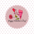 Background for valentine's day — Stock Vector #61038789