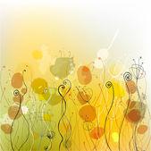 Yaz çiçek arka plan — Stok Vektör