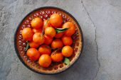 Sweet fresh clementines — Stock Photo