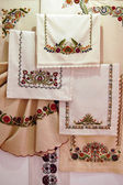 Traditional Hungarian embroidery — Stock Photo