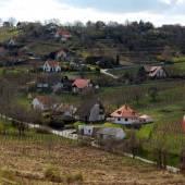 Scenic Rural landscape — Stock Photo