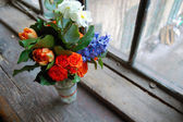 Beautiful flower bouquet — Stock Photo