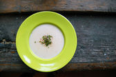Celery cream soup — Stock Photo