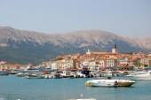 Beautiful city view in Croatia — Stock Photo