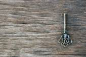 Old vintage key — Stock Photo