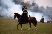 TVAROZNA, CZECH REPUBLIC - NOVEMBER 29, 2014: History fan in mil — Zdjęcie stockowe