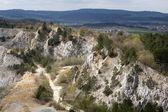 Limestone mine, Koneprusy, Czech republic — Stock Photo