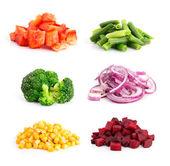 Vegetables set 1 — Stock Photo
