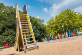 Slide on a playground — Stock Photo