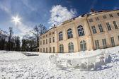 The castle Niederschoenhausen in Berlin Pankow — Stock fotografie