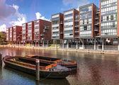 Properties at the Schaartor in downtown Hamburg — Stock Photo