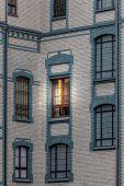 Luz na janela — Foto Stock