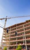 Building site berlin — Stock Photo