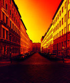 Street in Berlin — Stock Photo