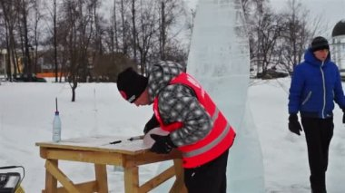 International Winter Festival Hyperborea 2014 — Stock Video