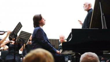 Beethoven's 5th concert 'Emperor' — Video Stock