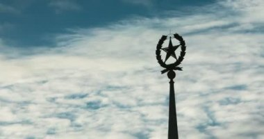 Star - Soviet Union symbol — Stock Video