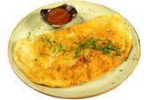 Empanada na talíři — Stock fotografie