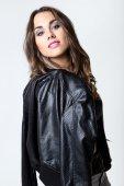 Young pretty woman. Studio fashion portrait. — Zdjęcie stockowe