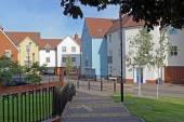 Modern Housing UK — Stock Photo