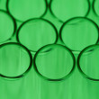Green Test Tube Background — Stock Photo #55088789