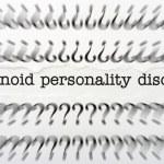 Постер, плакат: Paranoid personality disorder