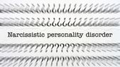 Narcissistic personality disorder — Stock Photo
