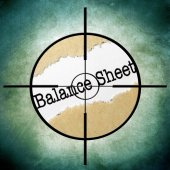 Balance target — Stock Photo