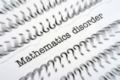 Mathematic disorder — Stock Photo