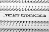 Primary Hypersomnia — Stock Photo