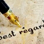 Best regards — Stock Photo #53840169