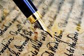 Old letter — Foto de Stock