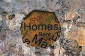 Homes for rent — Stock Photo