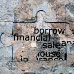 Borrow financial sale — Stock Photo #54316363