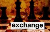 Exchange concept — Stock Photo