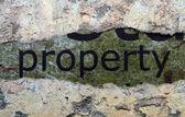 Property concept — Stock Photo