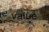 Value concept — Stock Photo