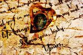 любовное письмо — Стоковое фото
