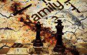 Family chess concept — Stock Photo