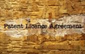 Patienten-lizenzvertrag — Stockfoto