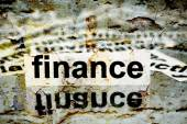 Finanzen — Stockfoto