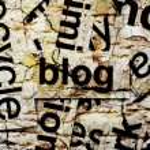 BLog concept — Stock Photo #58537675