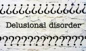 Delusional disorder — Stock Photo