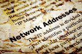 Network ip address — Stock Photo