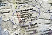 Carcinogens substances — Stock Photo