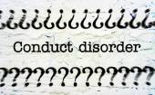 Conduct disorder — Stock Photo